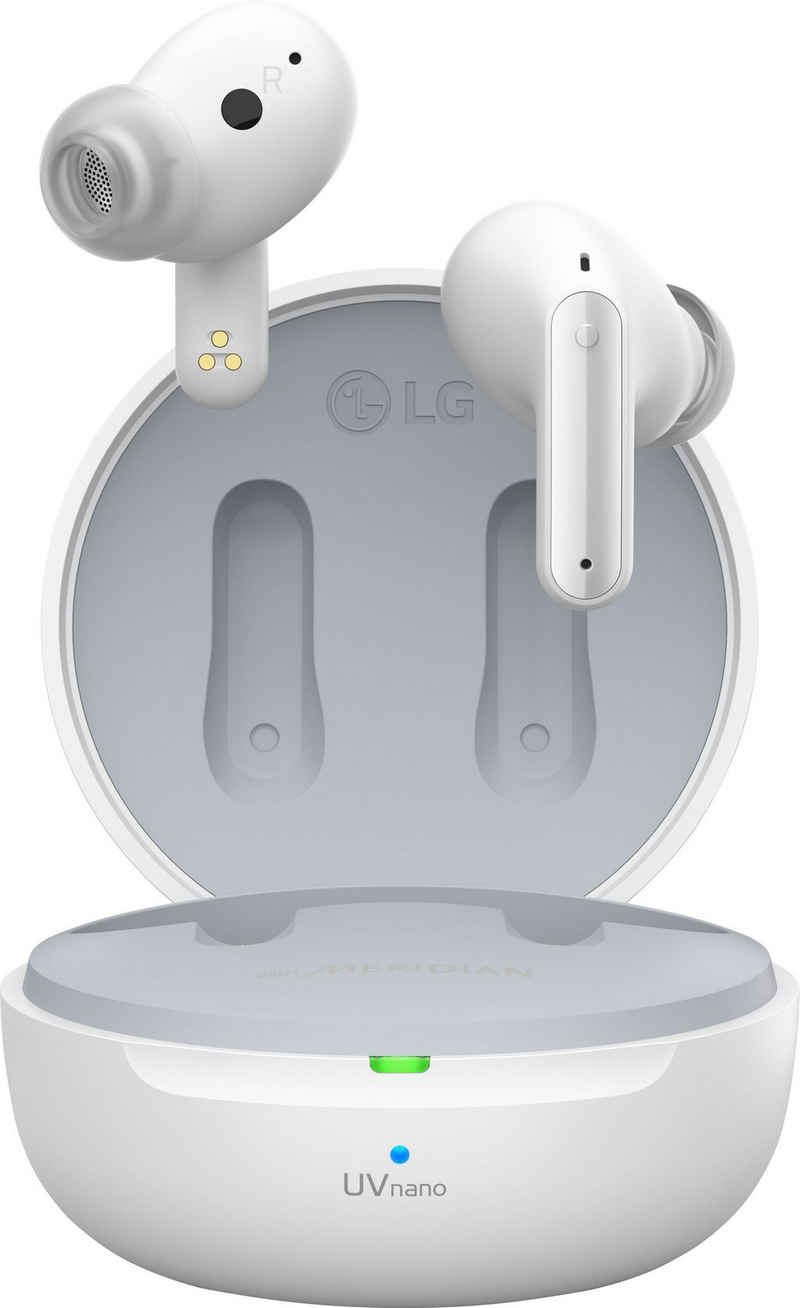 LG »TONE-DFP8« Bluetooth-Kopfhörer (kompatibel mit Siri, Adaptive Noise-Cancelling, Google Assistant, Siri)