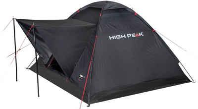 High Peak Kuppelzelt »Zelt Beaver 3«, Personen: 3 (mit Transporttasche)