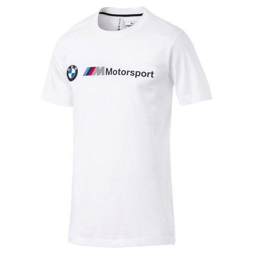 PUMA T-Shirt »BMW M Motorsport Logo Herren T-Shirt«