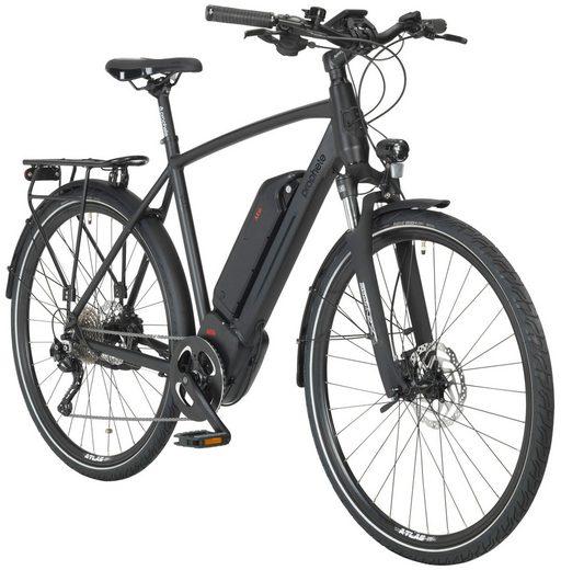 PROPHETE E-Bike Trekking »Entdecker e980«, 28 Zoll, 10 Gang, Mittelmotor, 576 Wh