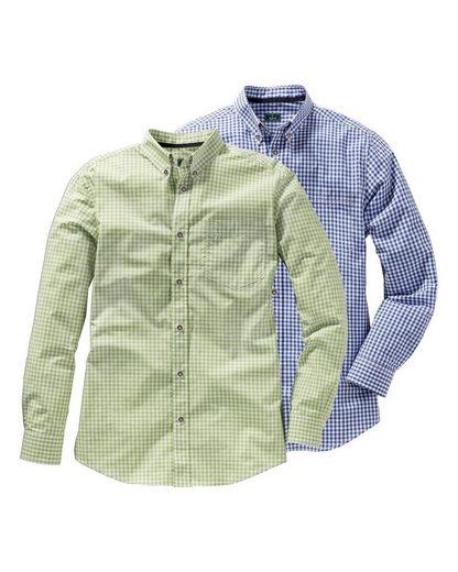 Luis Steindl Trachtenhemd »Doppelpack Karohemden«