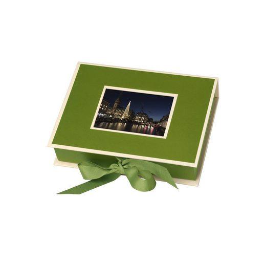 Semikolon Fotobox »Geschenkbox mit Einschubfenster«, grün
