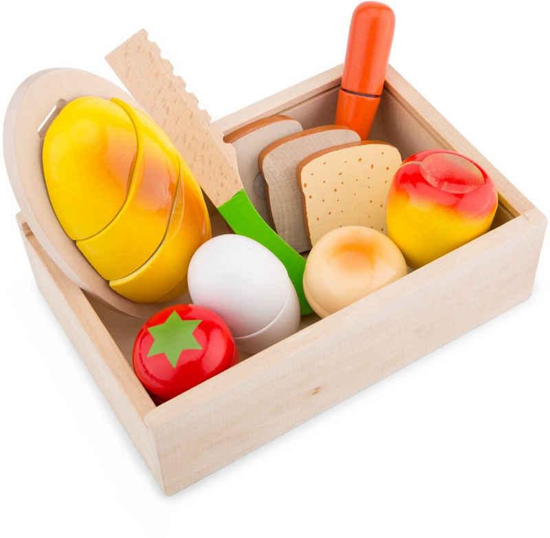 New Classic Toys® Spiellebensmittel »Bon Appetit - Schneideset Frühstück«, (10-tlg)