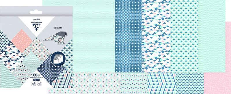 CLAIREFONTAINE Kraftpapier »Prisma«, 60 Blatt