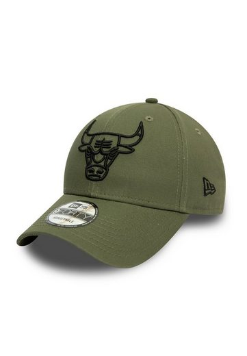 New Era Baseball Cap »New Era NBA Essential Outli 9Forty Adjustable Cap CHICAGO BULLS Khaki«