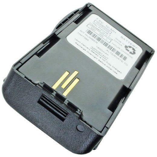 AccuCell »Akku passend für Motorola Visar 1800mAh NTN7394, N« Akku