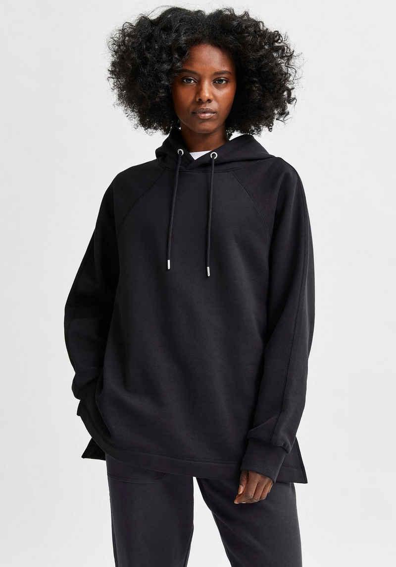 SELECTED FEMME Kapuzensweatshirt aus Baumwolle