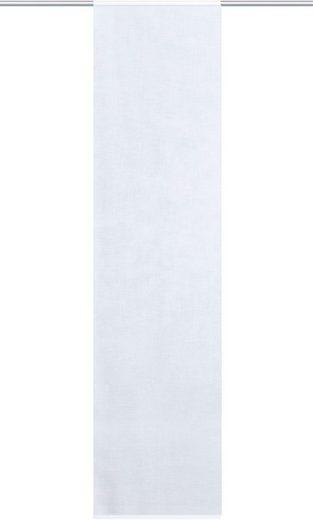 Schiebegardine »JULIAN«, HOME WOHNIDEEN, Paneelwagen (1 Stück), Leinenstruktur