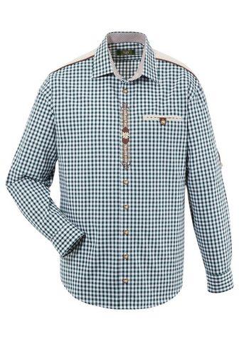OS-Trachten Tautinio stiliaus marškiniai su Krämpe...