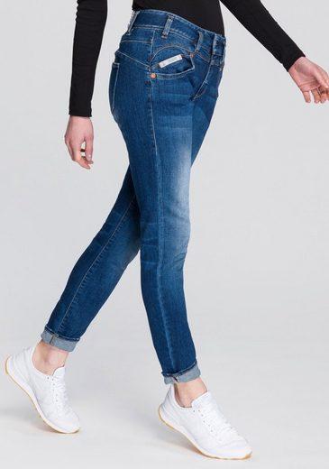 Herrlicher Slim-fit-Jeans »PEARL SLIM ORGANIC« umweltfreundlich dank Kitotex Technology