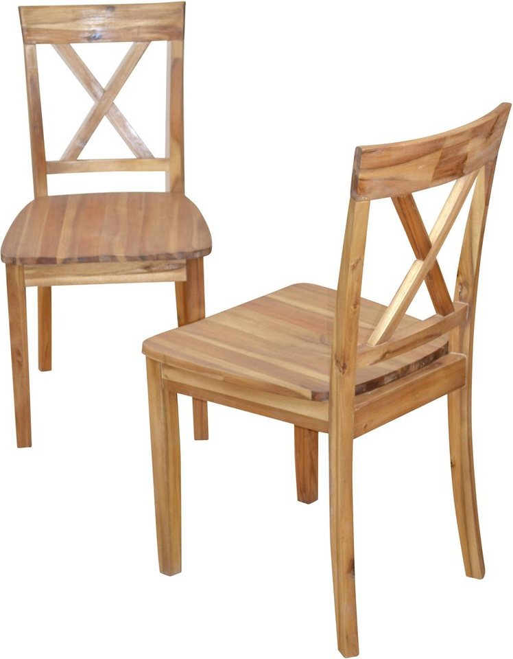 stuhl home affaire im 2er set online kaufen otto. Black Bedroom Furniture Sets. Home Design Ideas