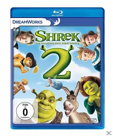 Blu-ray »Shrek 2 - Der tollkühne Held kehrt zurück«