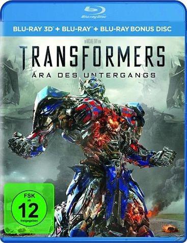 Blu-ray »Transformers 4 - Ära des Untergangs 3D (Blu-ray)«