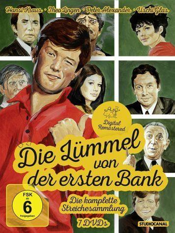 DVD »Die Lümmel von der ersten Bank (7 Discs,...«