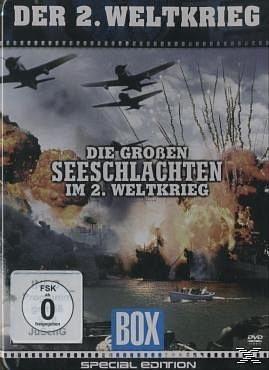 DVD »Die großen Seeschlachten im 2. Weltkrieg...«