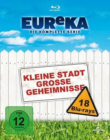 Blu-ray »EUReKA - Die geheime Stadt, Die komplette...«