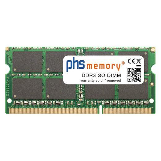 PHS-memory »RAM für Acer Aspire 5810TG-734G50Mn« Arbeitsspeicher