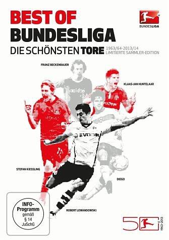 DVD »Best of Bundesliga - Die schönsten Tore 1963 -...«