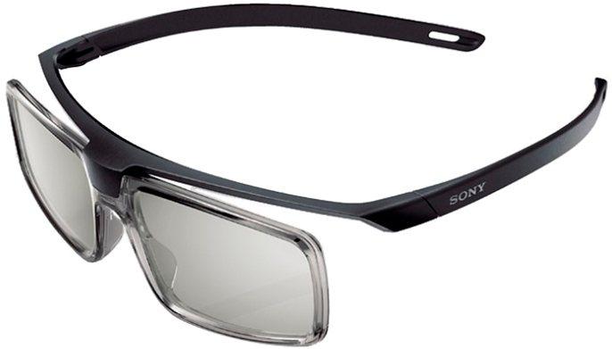 Sony TDG-500P 3D Brille Passive Polarisationsbrille in schwarz