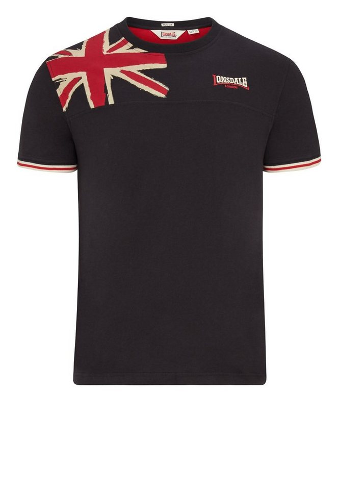 Lonsdale T-Shirt »LEYBOURNE« in Black