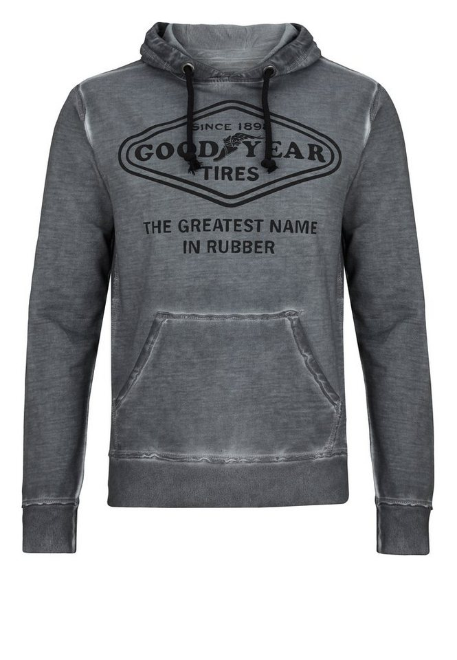 Goodyear Kapuzenpullover in Anthracite
