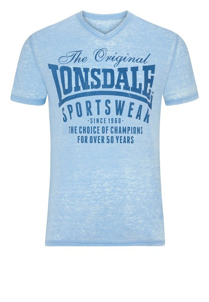Lonsdale T-Shirt »HALSTEAD« in Sky Blue