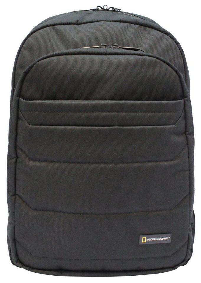 National Geographic, Rucksack mit Laptopfach, »Pro«. in schwarz
