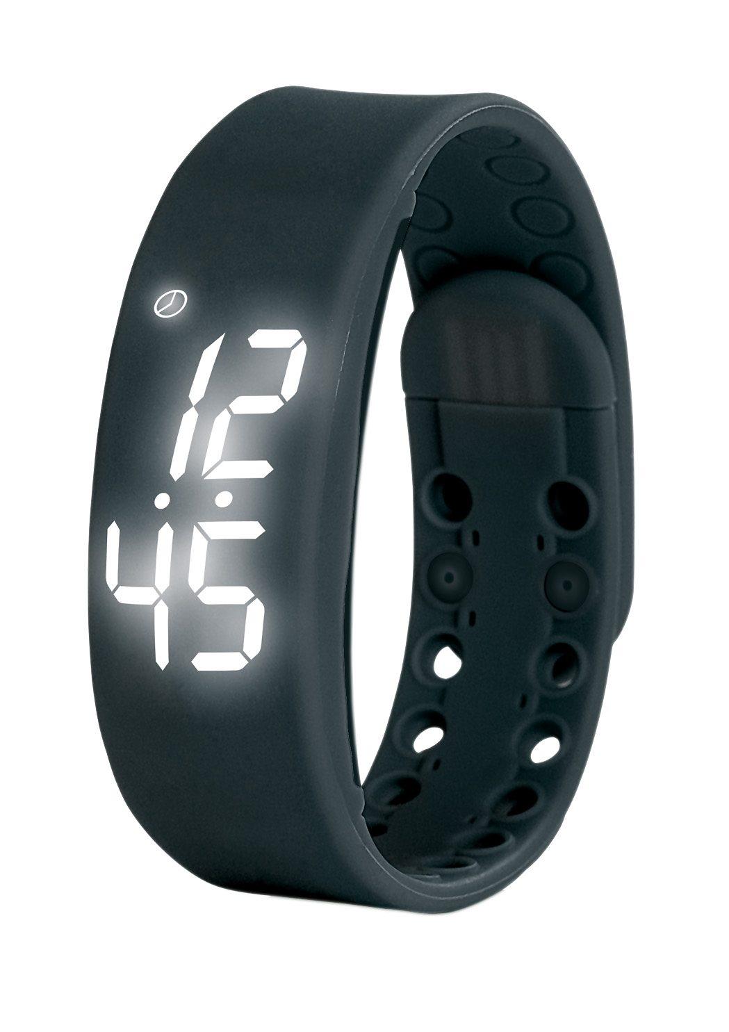 VITALmaxx Fitness-Armband LED schwarz