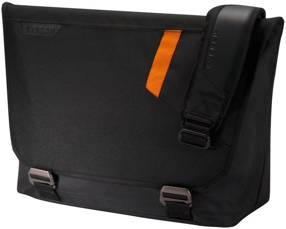 "Everki Laptop Messenger-Tasche »Track 15,6""« in schwarz"