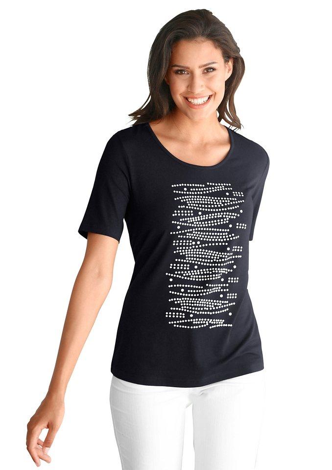 Alessa W. Shirt leicht tailliert in schwarz