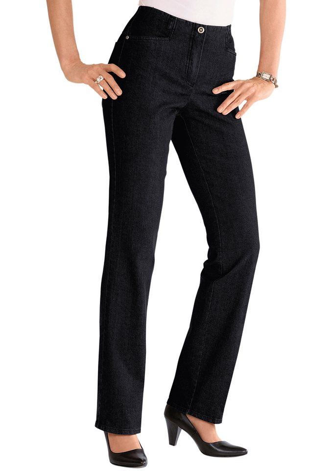 Cosma Jeans in gepflegter Optik in dunkelrot