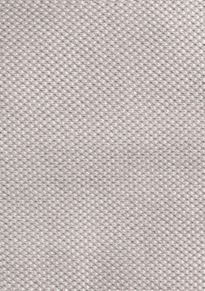 Kurzarm-Poloshirt, Hajo in beige