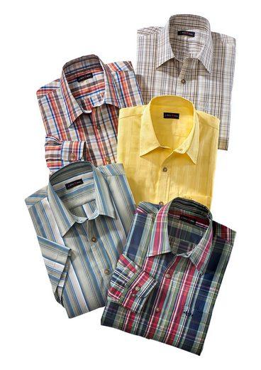 Classic Langarm-Hemd mit Kentkragen