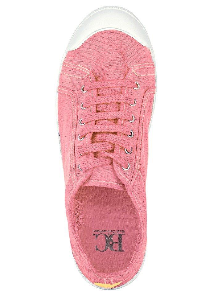 Sneaker in rosé