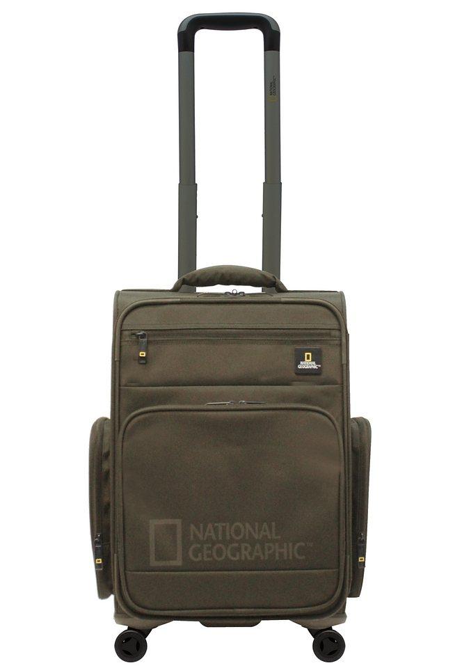 National Geographic, Trolley mit 4 Rollen, »Cargo« khaki in khaki