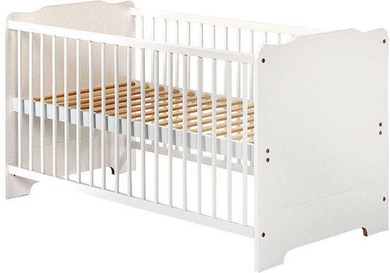 Julius Zöllner Babybett »Penny, weiß«, Made in Europe, FSC®-Holz aus gewissenhaft bewirtschafteten Wäldern