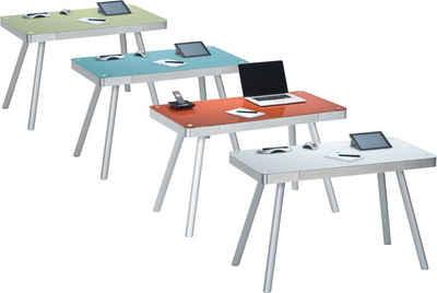 Glasschreibtisch Kaufen Schreibtisch Aus Glas Otto