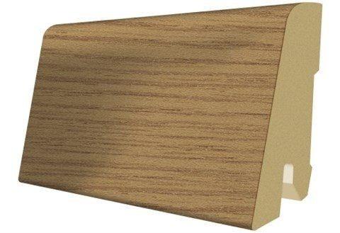 Sockelleisten passend zum Laminat »Megafloor cork+«, eiche natur Nachbildung