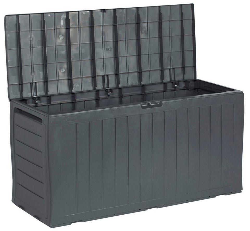 Auflagenbox »Universal«, Kunststoff, anthrazit in grau