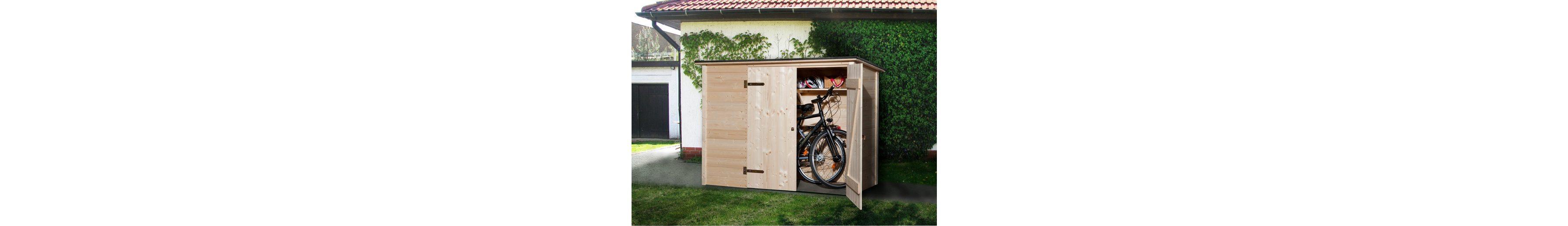 Fahrrad-/Mülltonnenunterstand