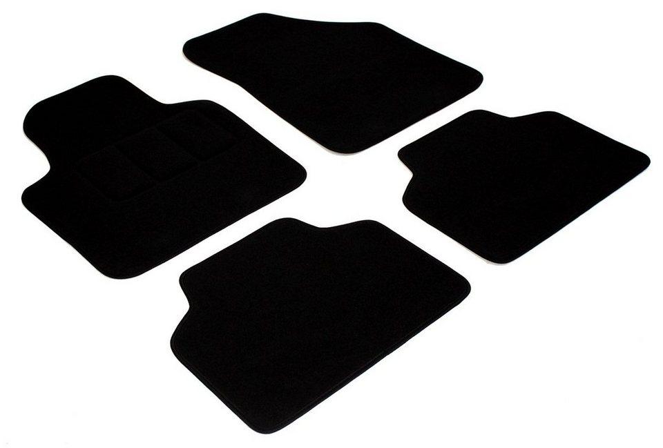 Automatten »Seat (4 tlg.)« in schwarz
