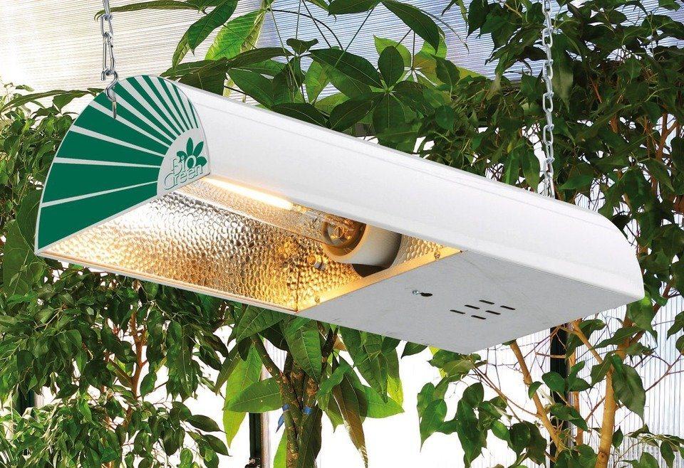 Biogreen Pflanzenlampe »Sirius X 400«, Natrium-Dampflampe, BxTxH: 12,5x56,5x25 cm in weiß