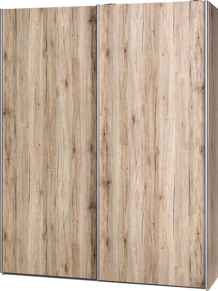 Garderobenschrank, CS Schmal, »Soft Smart«, 150 cm breit, inkl. Zubehör in sanremo/sanremo/sanremo