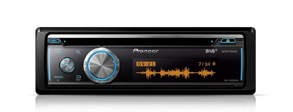 pioneer 1 din cd autoradio mit dab deh x8700dab otto. Black Bedroom Furniture Sets. Home Design Ideas