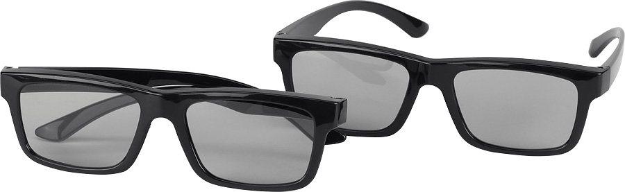 Grundig ZCW000 3D Passive Polarisationsbrille (1 Paar) in schwarz