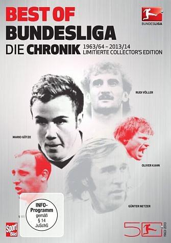 DVD »Best of Bundesliga - Die Chronik (9 Discs)«