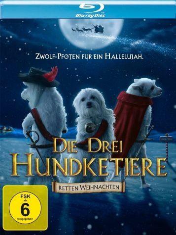 Blu-ray »Die drei Hundketiere retten Weihnachten«