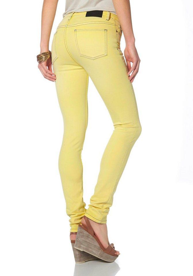 Liebeskind Röhrenjeans in gelb