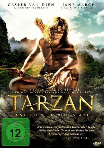 DVD »Tarzan und die verlorene Stadt«