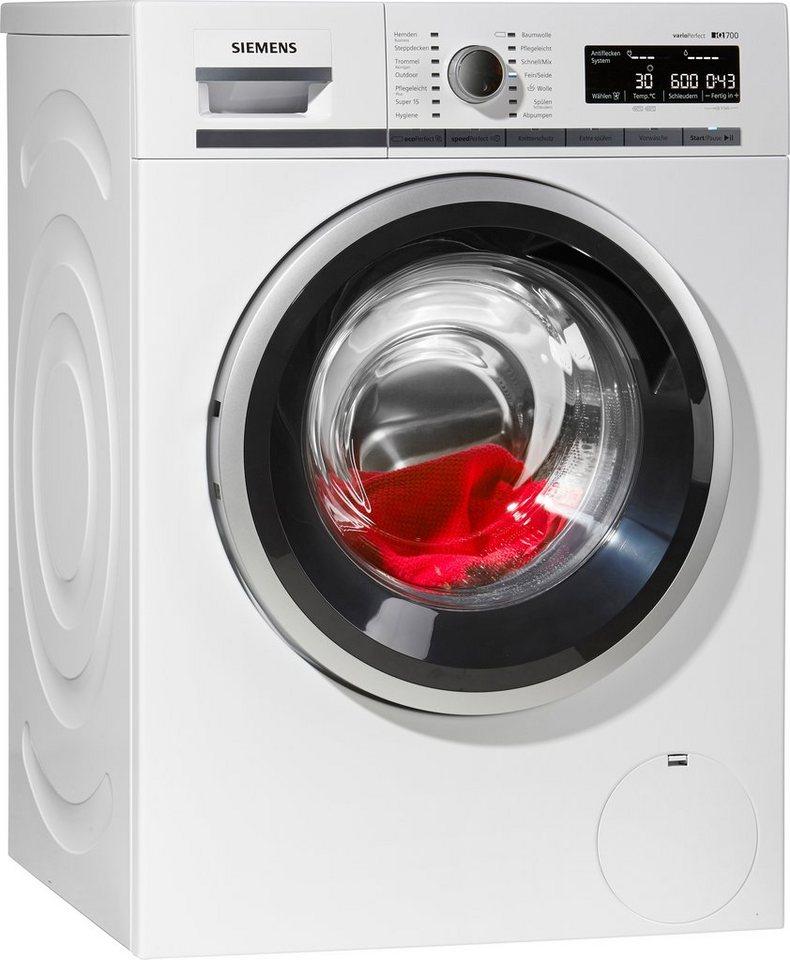 SIEMENS Waschmaschine WM14W540, A+++, 8 kg, 1400 U/Min in weiß